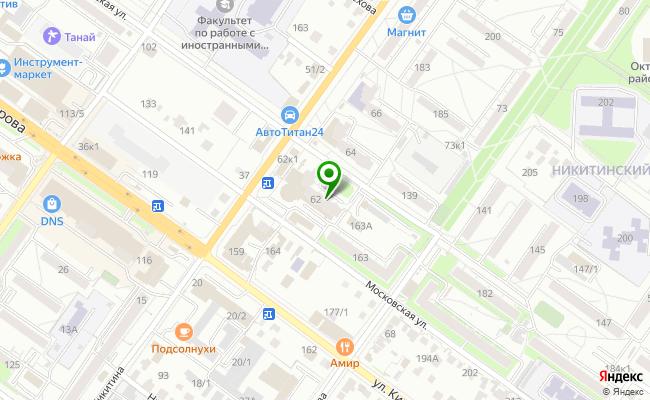 Сбербанк Новосибирск ул. Никитина 62 карта