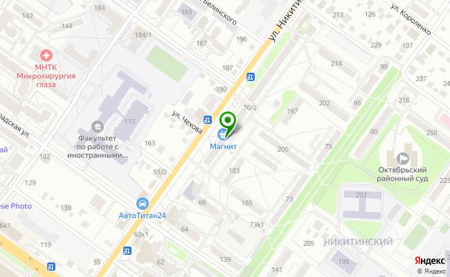 Сбербанк Новосибирск ул. Никитина 68 карта