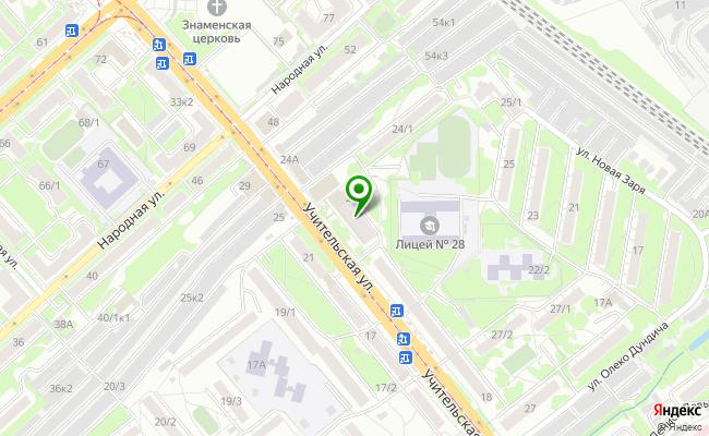 Сбербанк Новосибирск ул. Учительская 24 карта