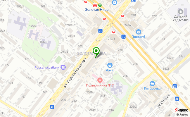 Сбербанк Новосибирск ул. Бориса Богаткова 208/1 карта