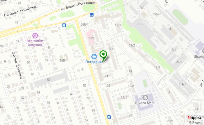 Сбербанк Новосибирск ул. Доватора 17 карта