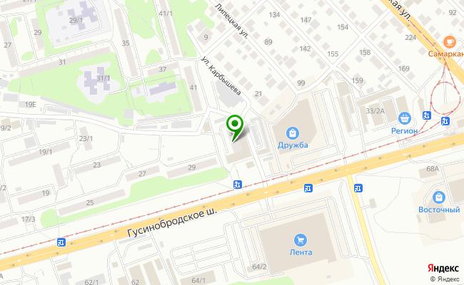 Сбербанк Новосибирск шоссе Гусинобродское 31 карта