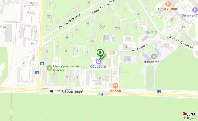 Сбербанк Новосибирск ул. Лыкова 7 карта