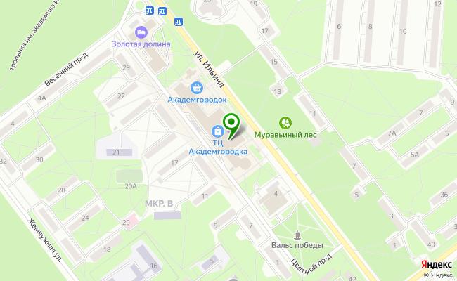Сбербанк Новосибирск ул. Ильича 6 карта