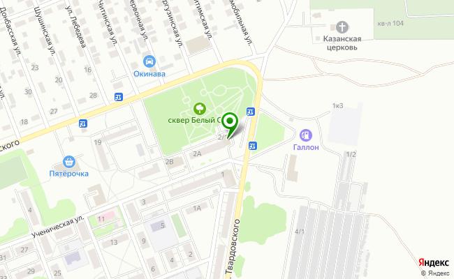 Сбербанк Новосибирск ул. Ученическая 2/1 карта