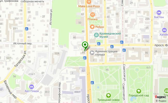Сбербанк Томск проспект Ленина 44 карта