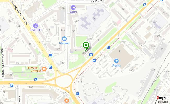 Сбербанк Томск ул. Елизаровых 2, стр.А карта