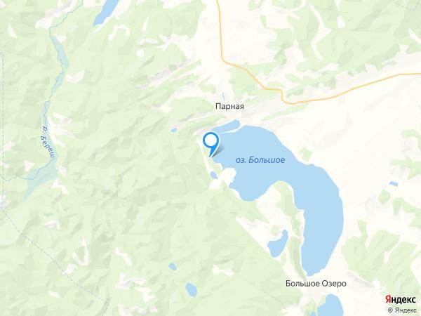 базы отдыха на карте