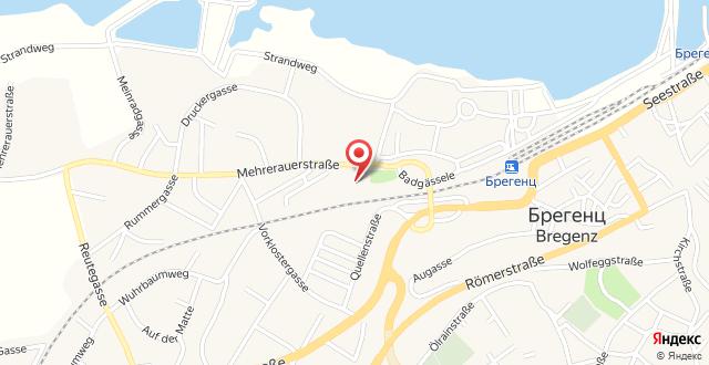 JUFA Hotel Bregenz на карте