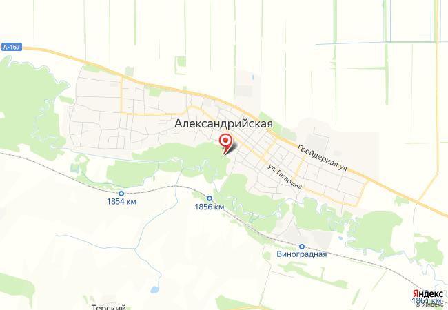 Карта Александрийской