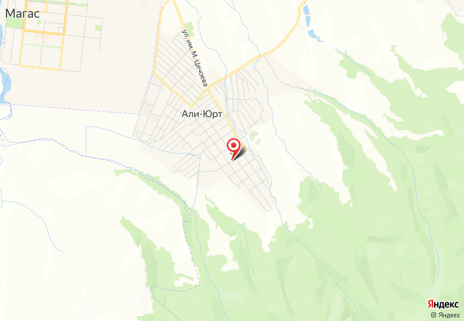 Карта Али-юрта