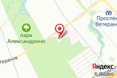 Санкт-Петербург, просп. Ветеранов, д. 58, лит. А