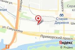 Санкт-Петербург, ул. Стародеревенская, д. 6, к. 1