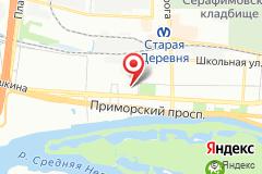 Санкт-Петербург, ул. Савушкина, д. 83, к. 3, оф. 529
