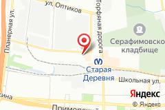 Санкт-Петербург, ул. Мебельная, д. 2, лит. А