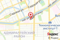 Санкт-Петербург, наб. реки Фонтанки, д. 130, лит. а