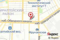Санкт-Петербург, наб. Обводного канала, д. 147-149
