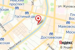 Санкт-Петербург, наб. реки Фонтанки, д. 43, лит. А