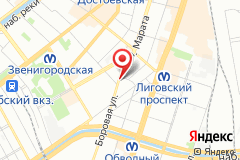 Санкт-Петербург, ул. Боровая, д. 18, к. 1