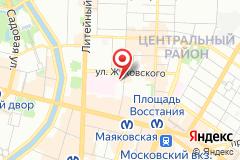Санкт-Петербург, ул. Маяковского, д. 12АП, БЦ Ассамблея, оф. 212