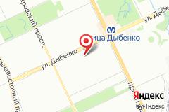 Санкт-Петербург, ул.Дыбенко, д. 25, к. 1