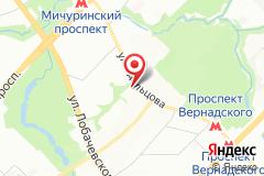 Москва, ул. Удальцова, д. 85, лит. А