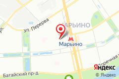 """Москва, бул. Новочеркасский  д. 57, (ТЦ """"Марьинский"""", 2-й этаж )"""