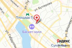 Казань, ул. Петербургская, д. 42, под. 1