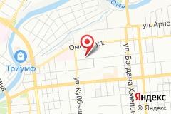 Омск, Иркутская улица, 1
