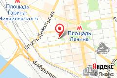 Новосибирск, ул. Урицкого, д.6 Вход с Октябрьской улицы