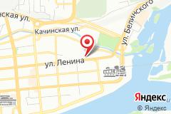 Красноярск, улица Ленина, 24, вход с правого торца здания
