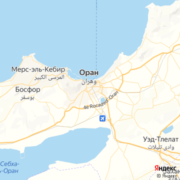 Карта Орана