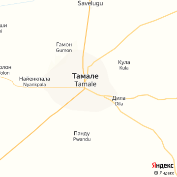 Карта Тамале