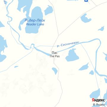 Карта Тех-Паса