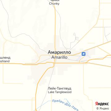 Карта Амарилло