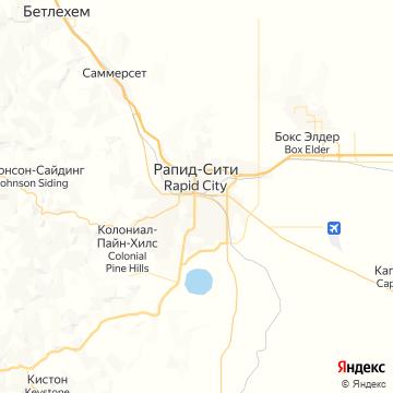 Карта Рэпида Сити