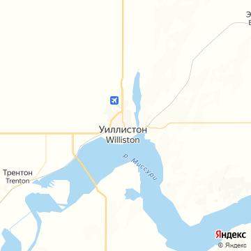 Карта Уиллистона