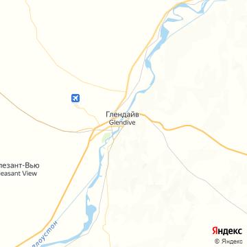 Карта Глендайва