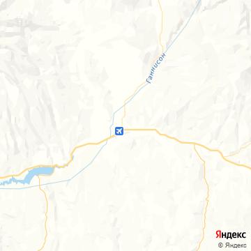 Карта Ганнисона