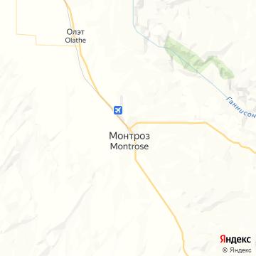 Карта Монтроза