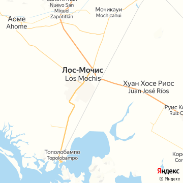 Карта Лоса-Мошиса