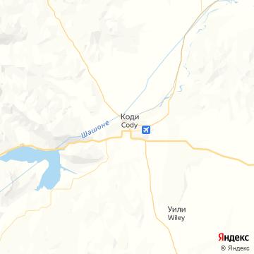 Карта Кодей