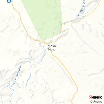 Карта Моаба