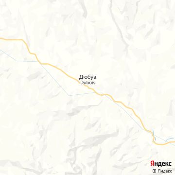 Карта Дюбуа