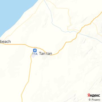 Карта Тана-Тана