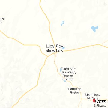 Карта Шоу Ло