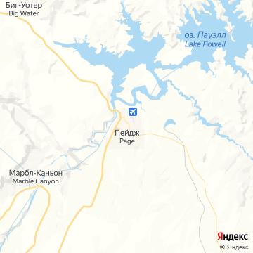 Карта Пага