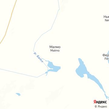 Карта Мальме