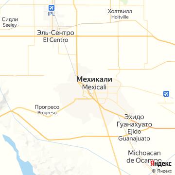 Карта Мехикалей