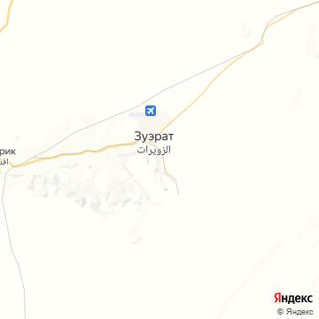 Карта Зуерате